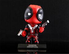 Marvel Deadpool CosBoby Bobblehead Wade Winston Wilson PVC Figure Figurine NB