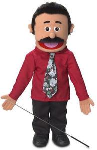 "Full Body Ventriloquist Puppet 25"" – Carlos"