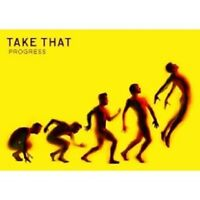 "TAKE THAT ""PROGRESS"" CD+DVD SPECIAL EDITION NEU"