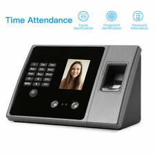 Biometric Office Facial / Fingerprint Clocking In System Time Recorder Work USB