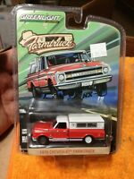 1970 C-10 Chevy 1/64 Greenlight FARM TRUCK STREET OUTLAWS Chevrolet Limited GL