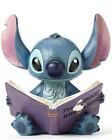 FIGURINE STITCH ET LIVRE BOOK DISNEY TRADITIONS JIM SHORE ENESCO FIGURE 4048658
