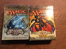 [ MAGIC the Gathering ] Morgenluft - Spizbuben + Schattenmoor - Drang Irdischen
