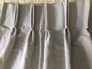 "MTM Single Duck Egg Curtain W46"" (fixed 24"") x L95"" (117cm x 241cm) Long Narrow"