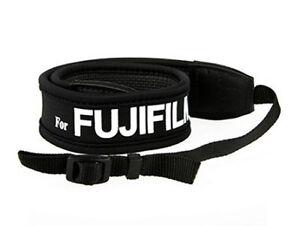 Camera Shoulder Strap for FUJIFILM Fuji anti-slip weight reducing neoprene - UK