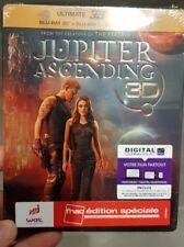 BLU RAY 3D+2D+DVD JUPITER steelbook ÉD FNAC Wachowski