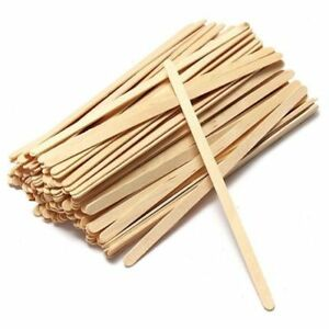 WOODEN STIRRERS COFFEE TEA 140mm Pack 1000 FOR PAPER CUPS HOT DRINKS STICKS