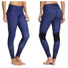 Athleta Striped Relay Tight Size XS Amalfi Blue/Black EUC