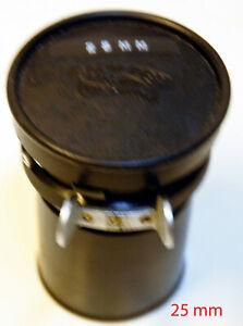 "Objectif SCHNEIDER  - MOUNT "" ARRIFLEX "" 16 mm - F 25 mm..1:1.4 - N° 7107341"