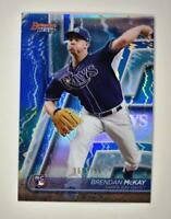 2020 Bowman's Best Base Blue #40 Brendan McKay RC /150 - Tampa Bay Rays