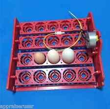 ✔ ✔ ✔ Automatic 20 Quail Egg Turner Tray with Motor 1/240 revolution 110/220v ✔✔