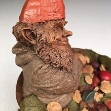 """Tom Clark Gnome The Pharmacist Herb 1984 Retired Piece 7.5""""x 6"""" Mythical Statue"""
