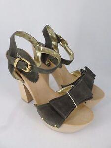 George J Love High Heeled Sandals Taupe UK 6 EU 39 LN29 95 SALEs