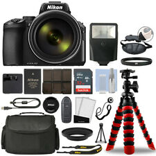 Nikon Coolpix P950 16Mp 4K Digital Camera with 83x Optical Zoom + 32Gb Bundle