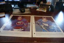 Hockey colour photo picture derniere heure lot of 8 nhl beliveau richard bourque