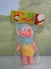 """1960's HILLBILY DOLL - 4"""" Troll Doll -  NEW IN PACKAGE - Made In Japan - RARE"""