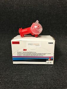 3M 16609 Accuspray Atomizing Head, Red, 2.0 mm, (4 per kit) (3M-16609)