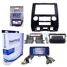 Radio Replacement Interface w/SWC & Dash Kit 1 or 2 Din Fits Ford/Mazda/Mercury