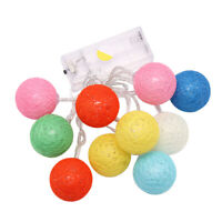 Colorful Balls String Light Hanging Backdrop Wall Lights Wedding Party Supply D