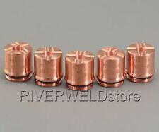 5pcs 9-8236 Thermal Dynamics SL60/SL100 A120 Shield Cup 70-100Amp Plasma Cutter