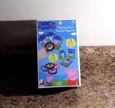 Peppa Pig Playing Card Games Superset 3 Decks Card Holders  NEW