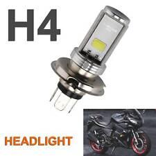 H4 Motorcycle Cool White Headlight 3030 LED Hi-Lo Beam Light Lamp Bulb 6500K