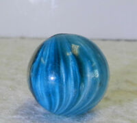 #12742m Vintage German Handmade Onionskin Marble .64 Inches