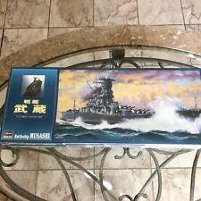1/450 Hasagawa IJN Musashi New Sealed