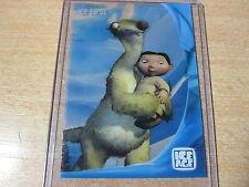 L'AGE DE GLACE ICE AGE RARE CARD IC8 CLEAR TRANSPARENT ICE CARDZ 2002 HERO
