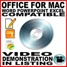 Office for Apple Mac Professional Home & Student - Macbook Pro iMac OSX Word MS