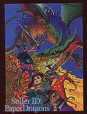 DARRELL K. SWEET - Metallic Storm Chase Card MS1 - The Dragon's Revenge