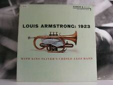 LOUIS ARMSTRONG - 1923 LP EX+/EX USA MONO DEEP GROOVE RLP 12-122 BIG BLUE LABEL