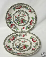 Two Johnson Bros. Indian Tree pattern saucers Good Condition, No chips or cracks