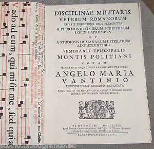 Disciplinae Militaris veterum romanorum privati publicique usus perscripta a plu