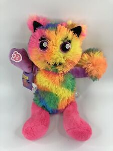 Build A Bear Mixter Rainbow Neon Tie Dye Changeable Arms & Legs Trick or Treat