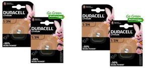 Duracell 2L76 1/3N Batterie Lithium 3V Batterien CR1/3N/CR1108 Exp : 2028