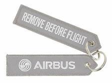 Airbus - Remove before Flight Schlüsselanhänger grau grey gris Keyring Porte-clé