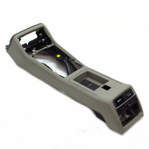 Audi A8 4E D3 Center Console Front Platinum Light