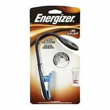 5 Pack - Energizer LED Book Light, Small Portable Clip Flashlight 11 Lumens Each