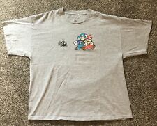 Vintage Mario Luigi Bo-omb Nintendo 2003 T Shirt Size Large
