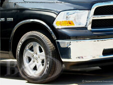 DODGE RAM CHROME FENDER TRIMS FITS 2009-2016  WITHOUT FLARES 4PC SET