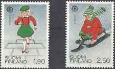 Timbres Europa Finlande 1042/3 ** lot 28089