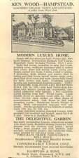 1936 Ken Wood Hampstead, Modern Luxury Home Overlooking Highgate Golf Course
