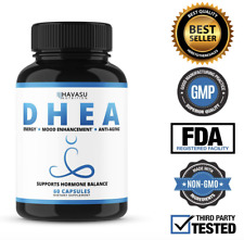 Extra Strength D H E A Dietary Supplement Anti-Aging + Mood Enhancement + Energy