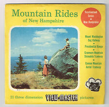 VIEW-MASTER - MOUNTAIN RIDES OF NEW HAMPSHIRE | Buy 3 or More For Free Shipping