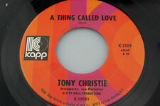 Tony Christie: God Is On My Side / A Thing Called Love  [Unplayed Copy]
