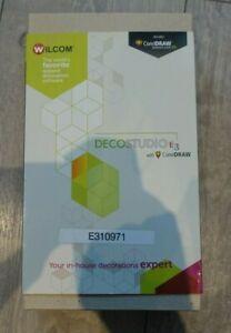 Wilcom Deco Studio E3 (full version) Embroidery Software Cost £700 boxed & keys