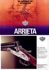 Manufacturas Arrietta c1985 (Spain) Gun Catalog