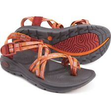 CHACO X2 ZVOLV SANDALS NEW WOMEN'S SIZE 9 CHAIR POPPY ORANGE