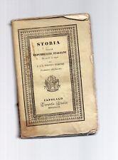 "historia ""il mondo delle cornicette"" repúblicas italiano de siglos de medio"